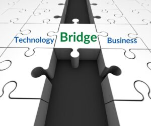Bridge the gap between technology and business