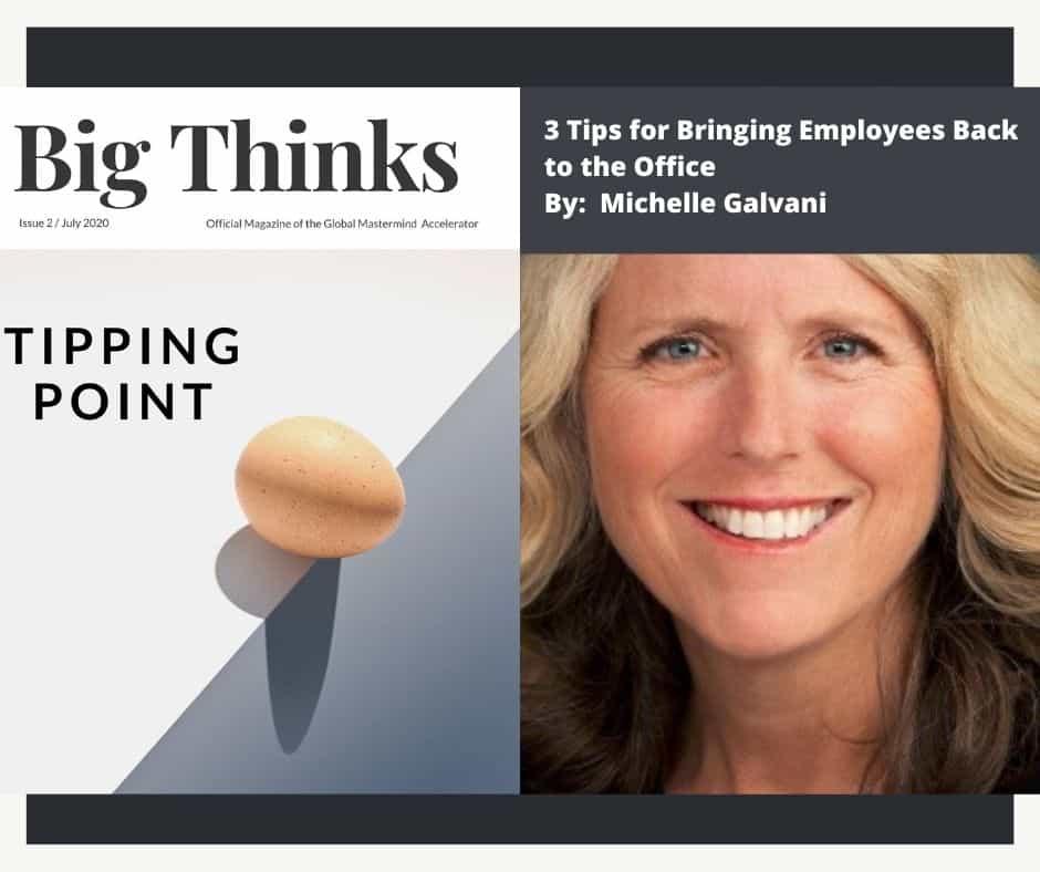Michelle Galvani Big Thinks Magazine