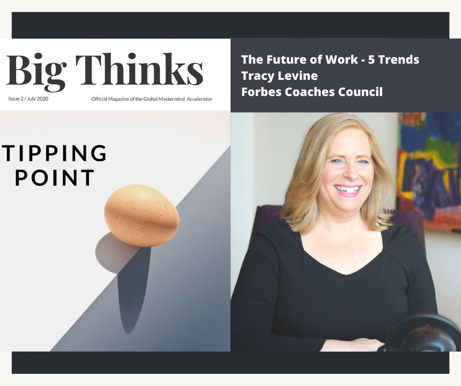 Tracy Levine Forbes Coaches Council Big Thinks July 2020