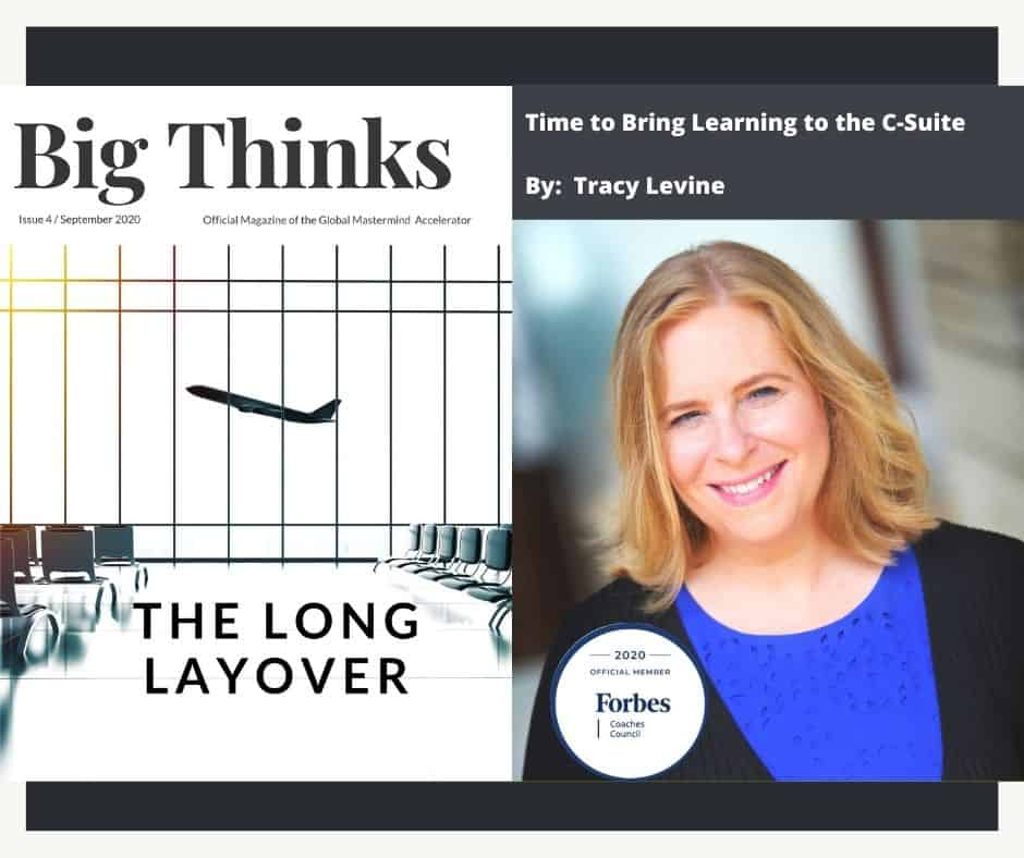 Big Thinks Covers Tracy Levine September 2020