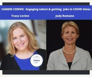 Candid Convo with Tracy Levine Forbes Coaches Council and Judy Romano IHG VP and CFO Commercial and Technology