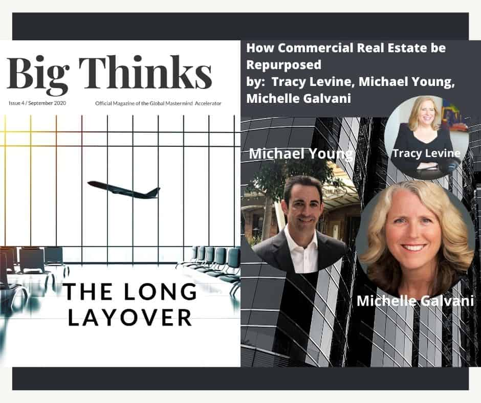 Big Thinks September 2020. How Commercial Real Estate Be Repurposed by Tracy Levine, Michael Young, Michelle Galvani