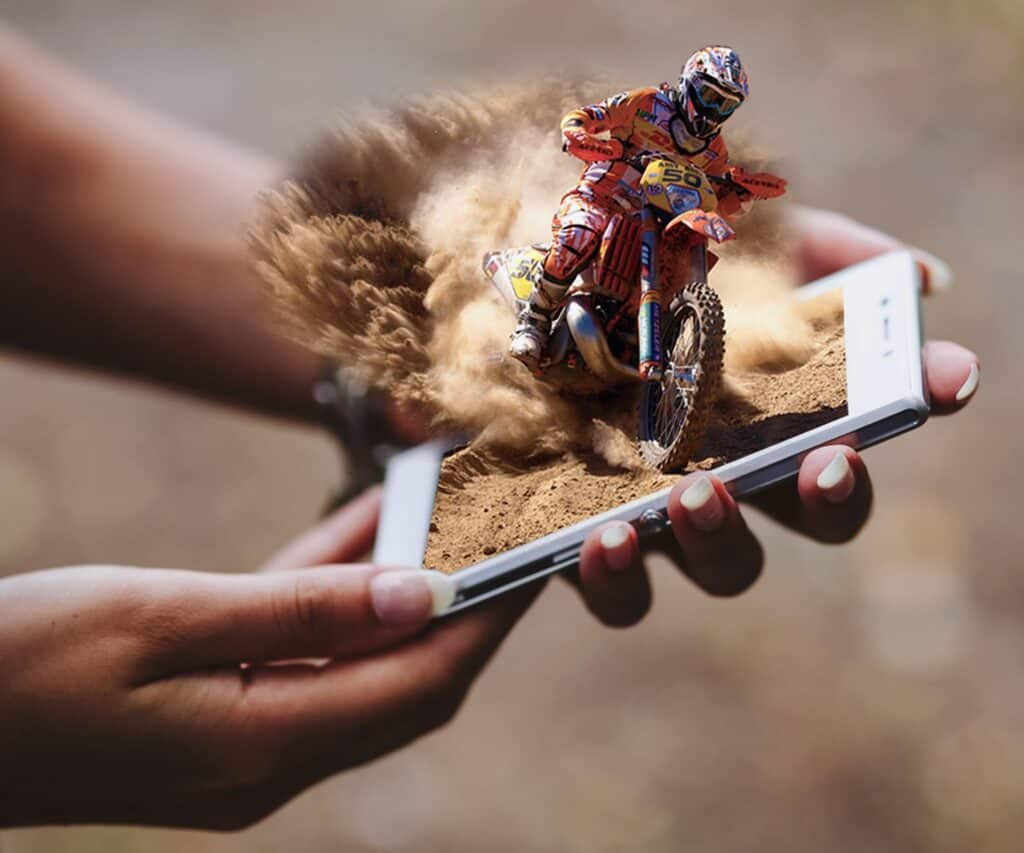 Augmented Reality on your phone