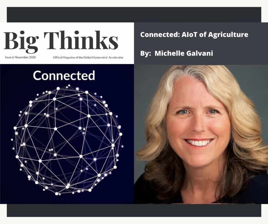 Big Thinks November 2020 AIoT of Agriculture by Michelle Galvanni