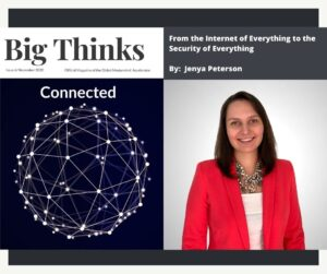 Big Thinks November 2020 From the Internet of Everything to the Security of Everything by Jenya Peterson