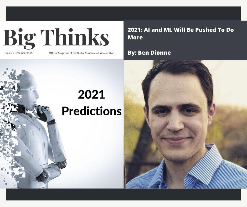 Big Thinks December 2020 Ben Dionne