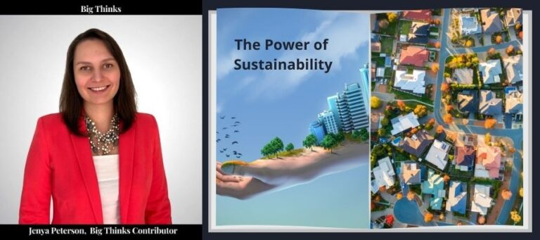The power of Sustainability Jenya Peterson