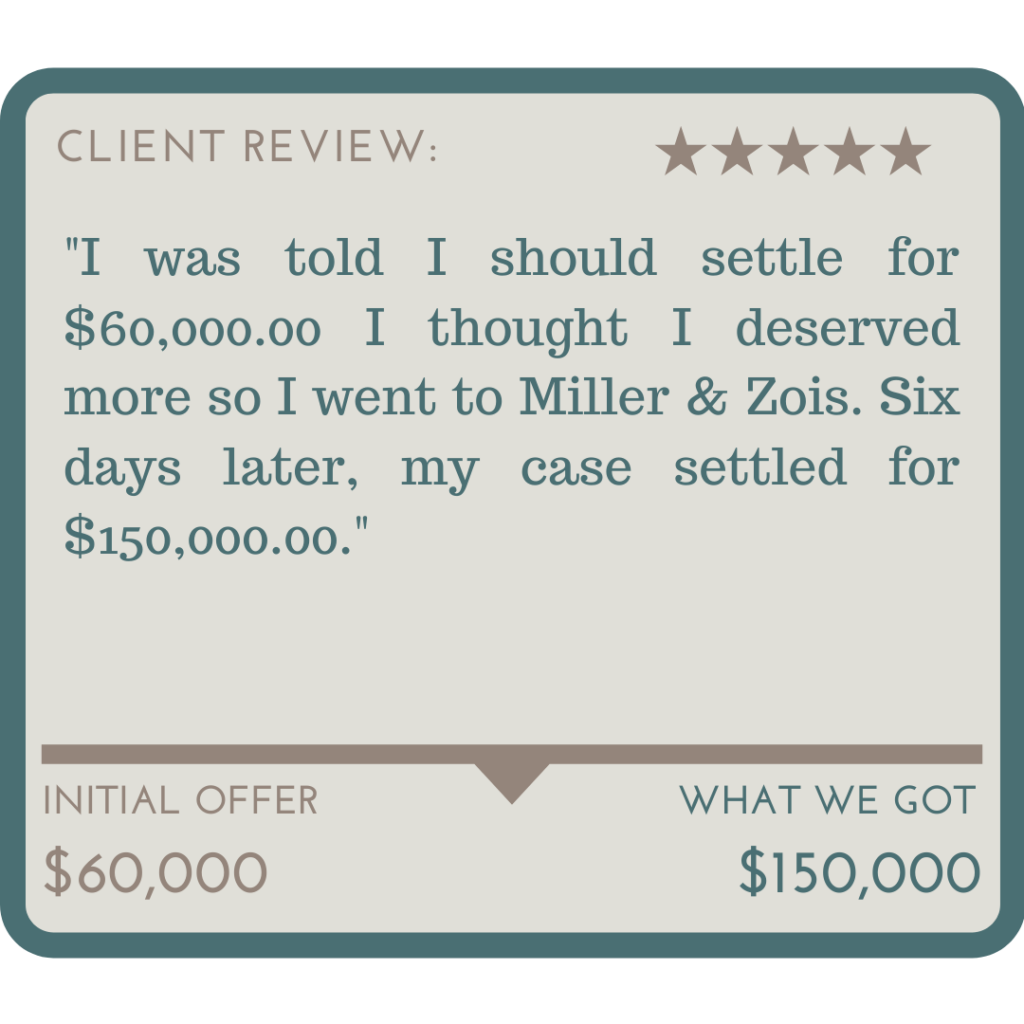 Miller & Zois Client Reviews