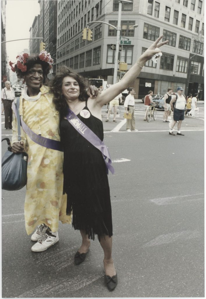 Photograph of Marsha P. Johnson and Sylvia Rivera