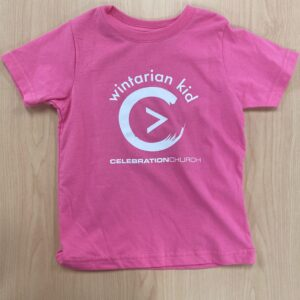 Pink Wintarian_Short_Sleeve_Kit T-Shirt Front