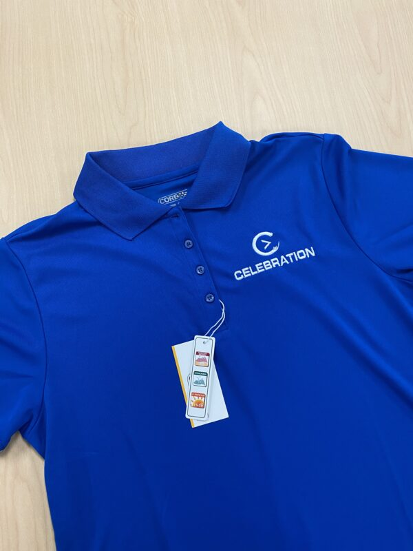 Women Blue Polo