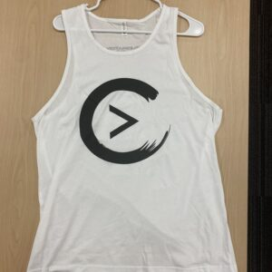 White Celebration Logo Tank