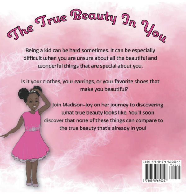 THE TRUE BEAUTY IN YOU (BACK) - BOOK