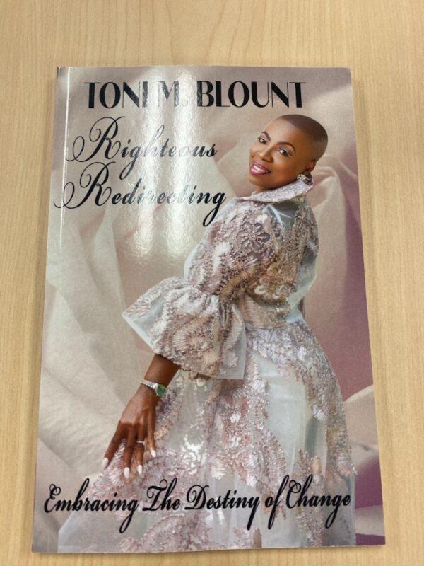 TONI M BLOUNT - BOOK COVER