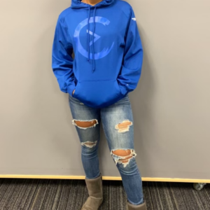 Blue on Blue Sweatshirt