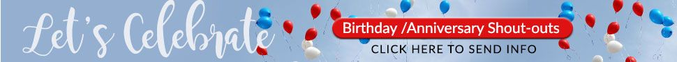 Celebration Church at Columbia Banner for Birthday/Anniversary Shoutout