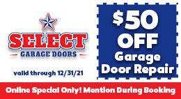 big savings for garage door installation & repair in Denver