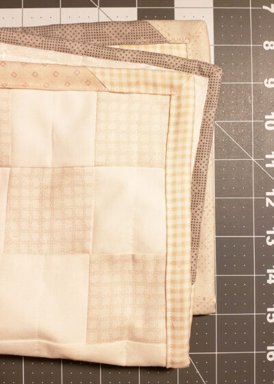 BINDING YOUR QUILT: A TUTORIAL