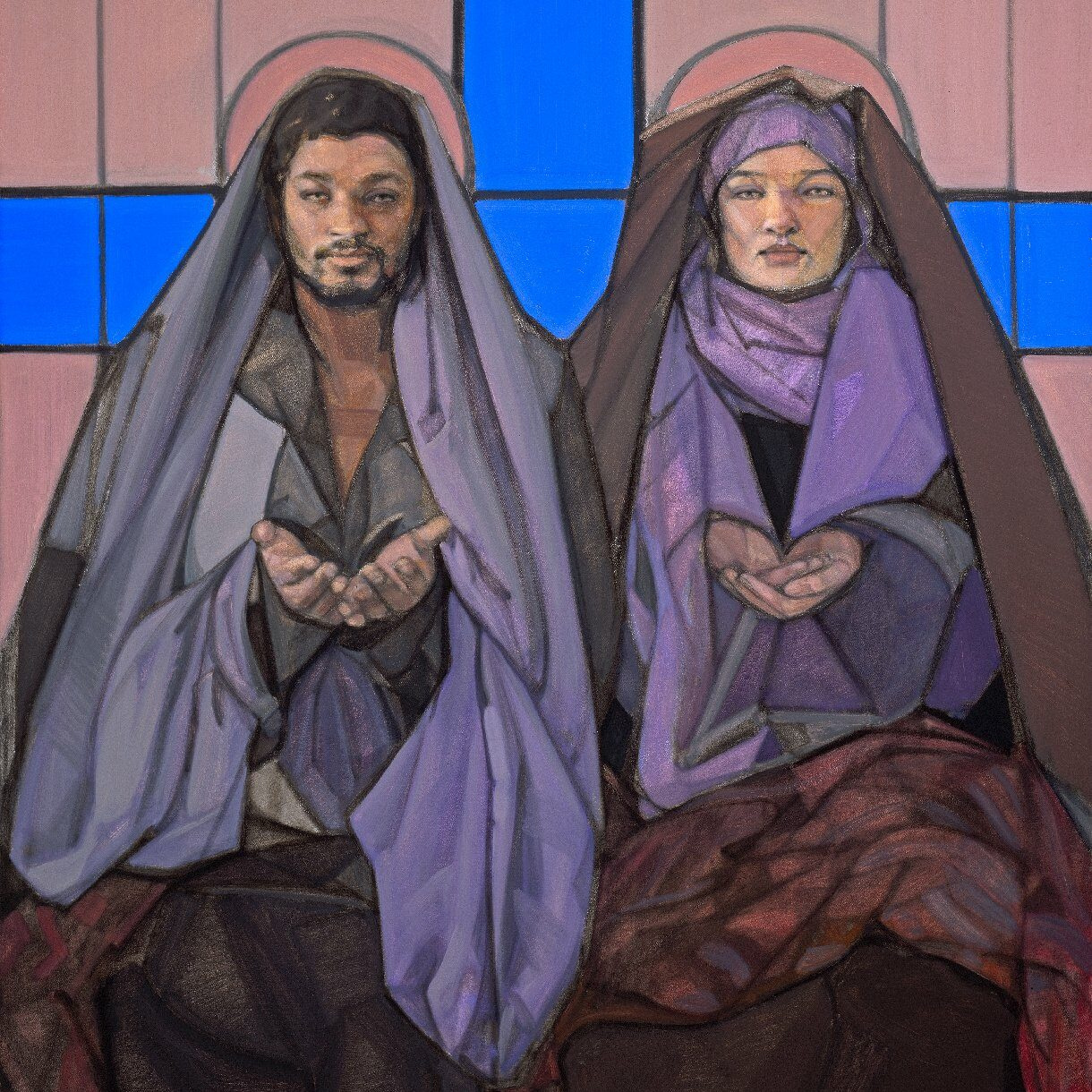2-Mary Magdalene with Jesus, the Christ, www.janetmckenzie.com