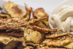 Hungry Nomad Truck Baked Zaatar Chips