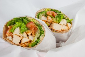 Hungry Nomad Truck Zesty Chicken Wrap