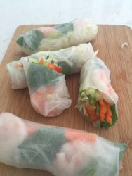 Cooking With Maria Vegetable Spring Rolls