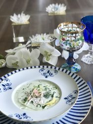MOTHER'S DAY RECIPE: CHILLED CUCUMBER CRAB SOUP
