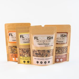 FLOURISH GRANOLA AVAILABLE AT GELSON'S MARKETS