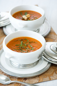 A SAUCE THAT YOU CAN EAT AS A SOUP, HOT OR COLD!