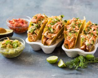 GRILLED SALMON TACO'S