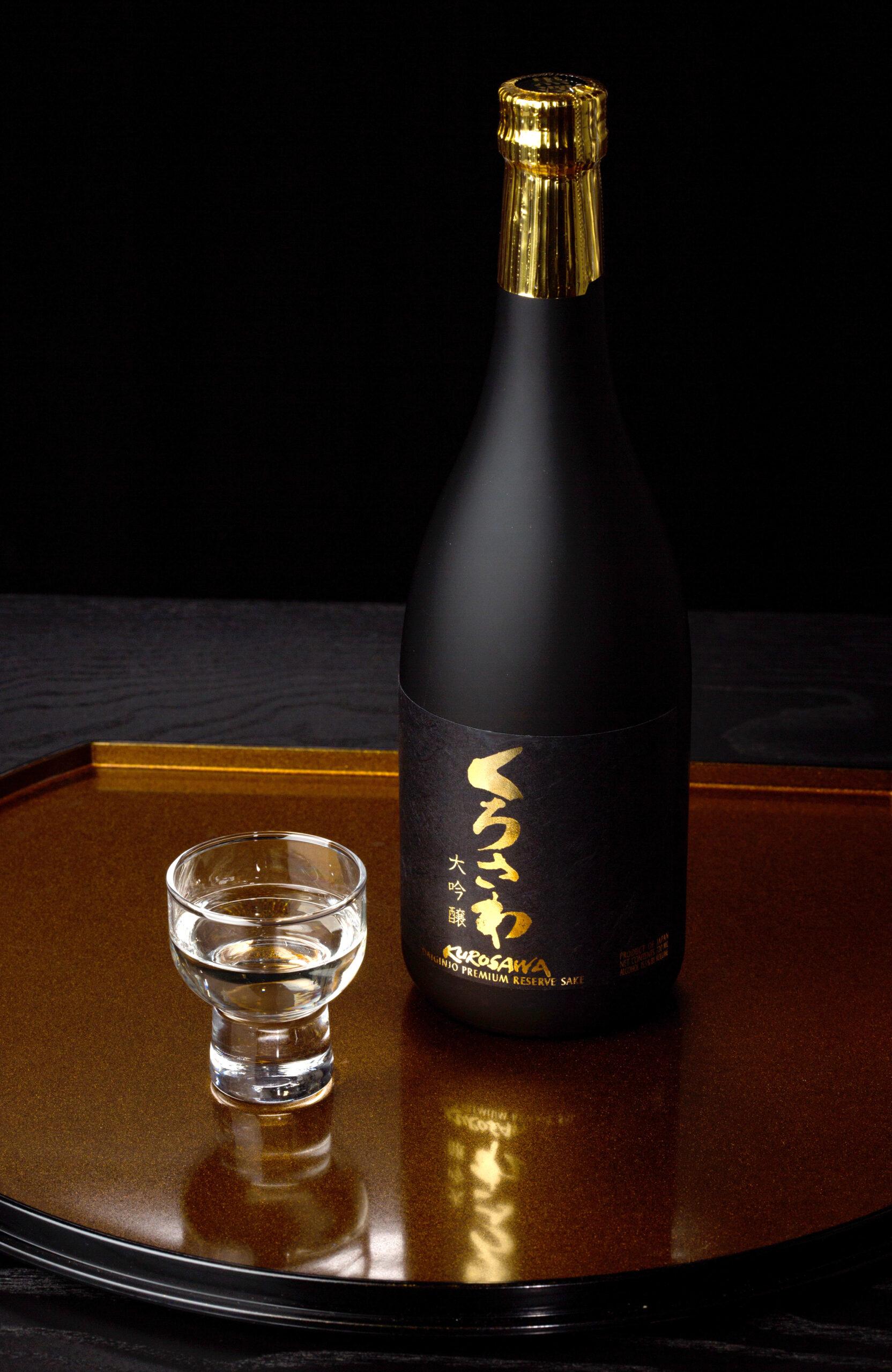 kurosawa_daiginjo_premium reserve bottle