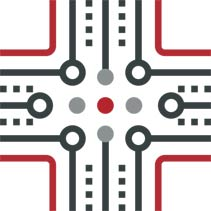 networking and infrastructure icon