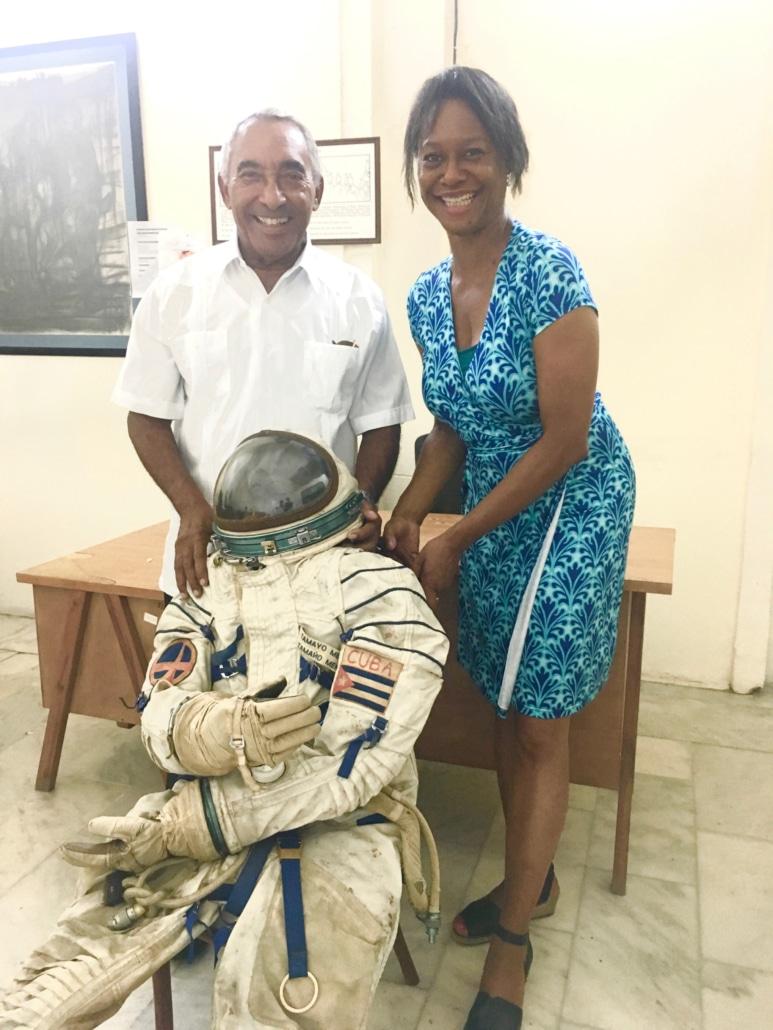 Cuban Cosmonaut and Laurens Grant