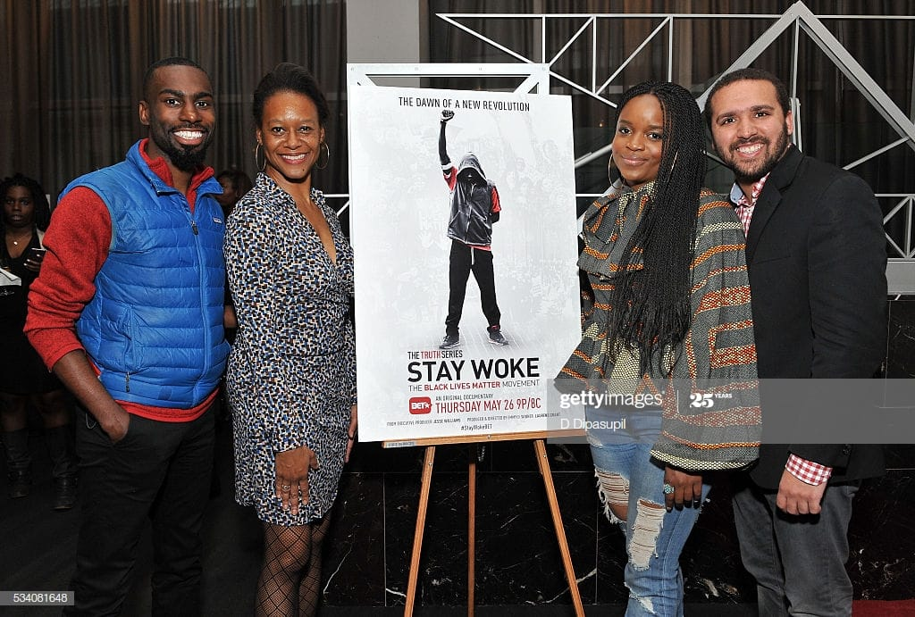 Photo Credit: Getty [group shot: DeRay McKesson; Laurens Grant; Brittney Packnett Cunningham; Wesley Lowrey]