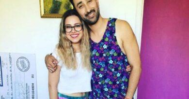 Dunga y Karla Melo