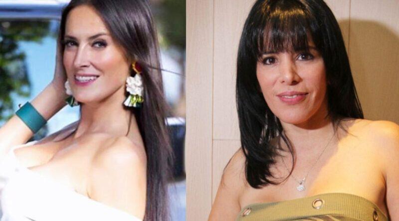 Adriana Barrientos y Anita Alvarado