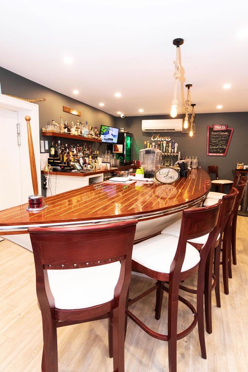 Ipperwash Beach Club - Bar or is it a boat?