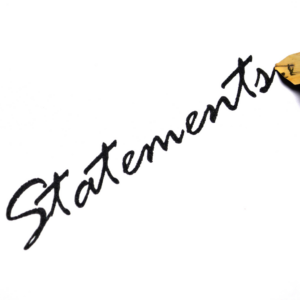 Personal Statement Support