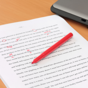 Proofreading (up to 3 pages)