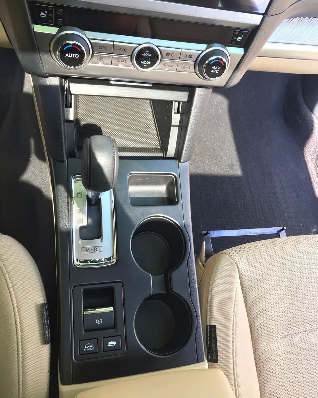 Subaru Outback Interior Detailing fairfax va