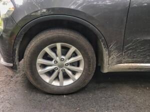 Dodge durango wheel dirty