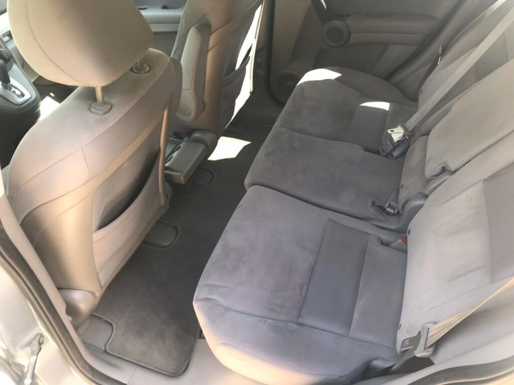 Clean Honda CRV rear seats