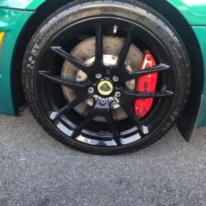 Lotus wheel after