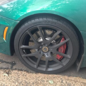 Lotus wheel before
