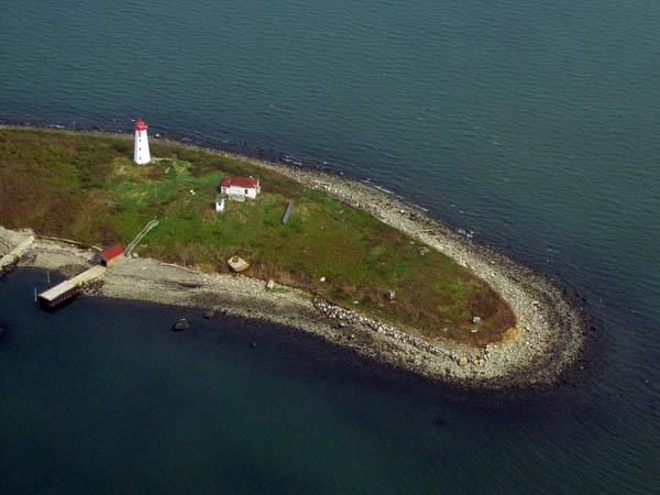 USCG Faulkners Island Aerial 11