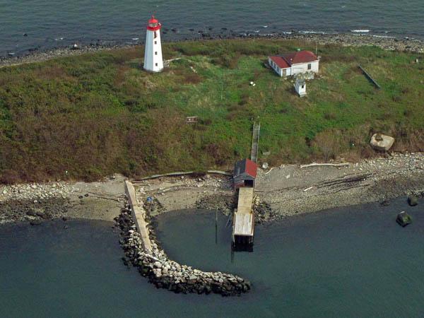 USCG Faulkners Island Aerial 12