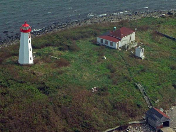 USCG Faulkners Island Aerial 13