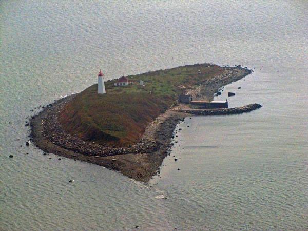 USCG Faulkners Island Aerial 2