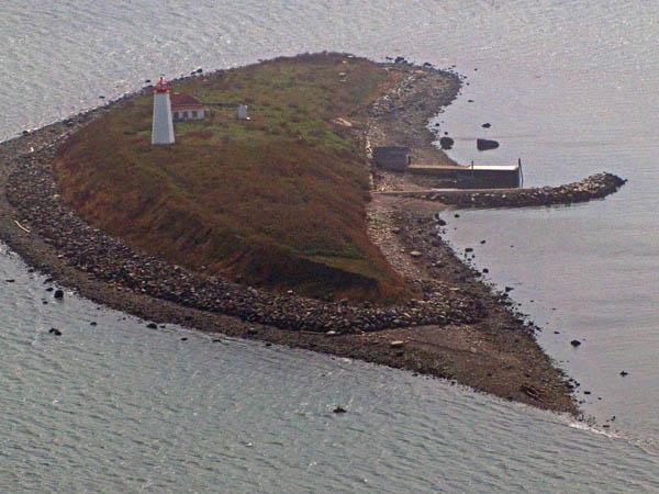 USCG Faulkners Island Aerial 3