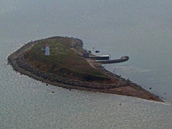 USCG Faulkners Island Aerial 4
